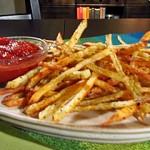 Włoskie frytki z pieca z domowym ketchupem (źródło: TLC)