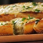 Zapiekanki z chleba z serem Asiago (źródło: TLC)