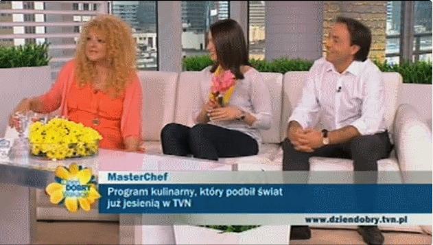 Jury programu Masterchef w TVN (źródło: dziendobry.tvn.pl)