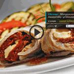Marynowany schab z mozzarellą i grillowaną cukinią (źródło: kuchnialidla.pl)
