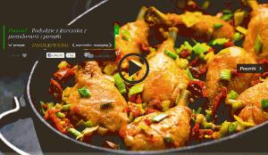 Podudzie z kurczaka z pomidorami i porami (źródło: kuchnialidla.pl)