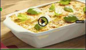Lazania z mozzarellą i suszonymi pomidorami (źródło: kuchnialidla.pl)