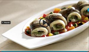 Delikatny pstrąg z duszonymi warzywami (kuchnialidla.pl)