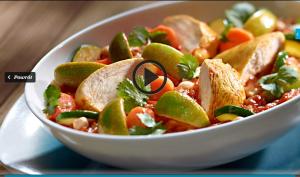 Kurczak z curry i warzywami w sosie kokosowym (źródło: kuchnialidla.pl)
