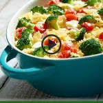 Zapiekanka makaronowa z warzywami i mozzarellą (źródło: kuchnialidla.pl)