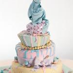 Tort na baby-shower (źródło: tlc.howstuffworks.com)