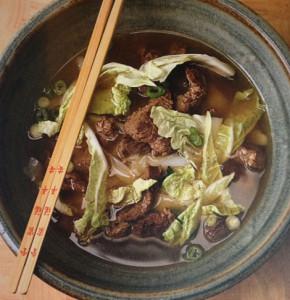 Zupa z wołowiną z kluskami (źródło: gokwan.com)