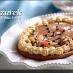 Mazurek z masą kajmakową (źródło: kuchnialidla.pl)