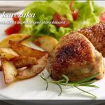 Udka z kurczaka z cytryną, miodem i zapiekanymi ziemniakami (źródło: kuchnialidla.pl)