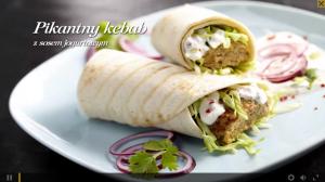 Pikantny kebab z sosem jogurtowym (źródło: kuchnialidla.pl)