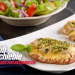 Schab na chlebie zapiekany pod beszamelem (źródło: kuchnialidla.pl)