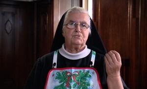 Siostra Aniela Garecka z programu anielska kuchnia (źródło: religia.tv)