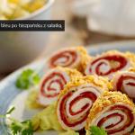 Cordon bleu po hiszpańsku z sałatką (źródło: kuchnialidla.pl)
