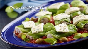 Proste gołąbki po grecku (źródło: kuchnialidla.pl)