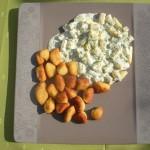 Kluseczki ziemniaczane z sosem ze szparagów - Badische Schupfnudeln (źródło: tvp.pl)