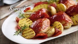 Kurczak w prostym sosie barbecue (źródło: kuchnialidla.pl)