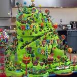 Cukierkowy tort urodzinowy dla Carlo (źródło: tlc.com)