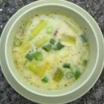Brotchán foltchep – zupa porowa z owsianką i kiełbaskami wieprzowymi (źródło: tvp.pl)