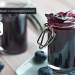 Konfitury borówkowe z czerwonym winem (źródło: kuchnialidla.pl)