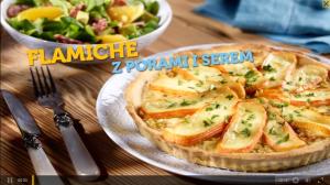Flamiche z porami i serem (źródło: kuchnialidla.pl)