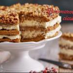 Bożonarodzeniowe ciasto miodowe (źródło: kuchnialidla.pl)