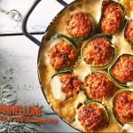 Pascal Brodnicki: Zapiekane cannelloni z cukinii i mięsa mielonego w sosie beszamelowym