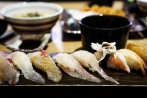 Składniki do sushi
