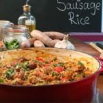 Pikantny ryż z kiełbaskami (źródło: channel4.com)
