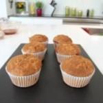 Muffinki toffi z sokiem jabłkowym (źródło: bakingmad.com)