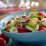 Sałatka z arbuzem, melonem i mozzarellą (źródło: kuchnialidla.pl)